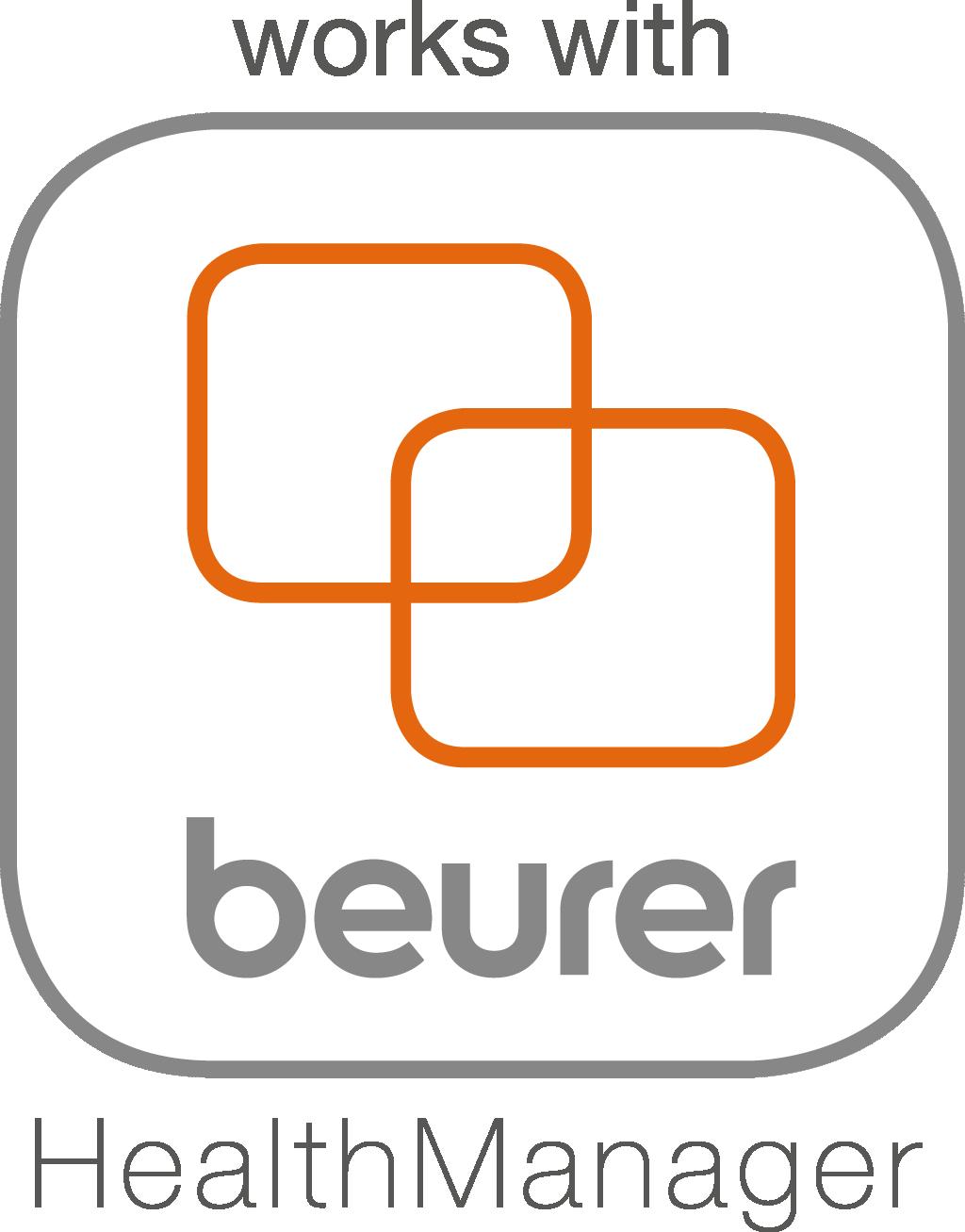 """可连接""""beurer HealthManager""""应用"""