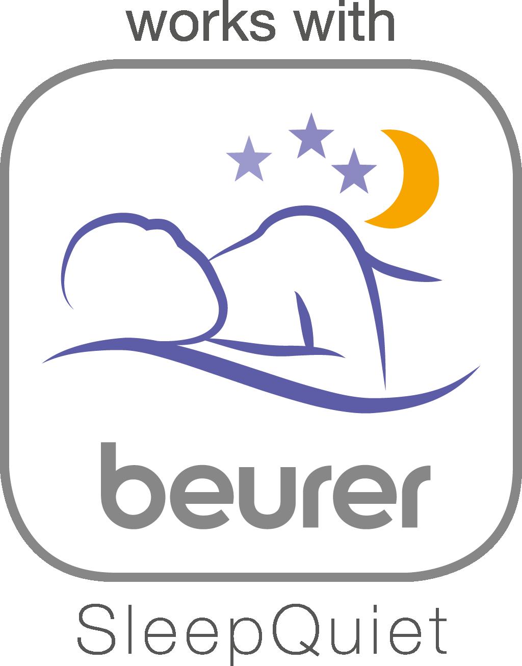 """可用于""""beurer SleepQuiet""""应用程序"""