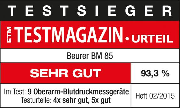 ETM Testmagazin BM 85