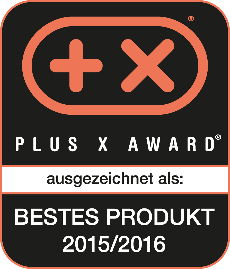 Plus X Award 2015 Bestes Produkt