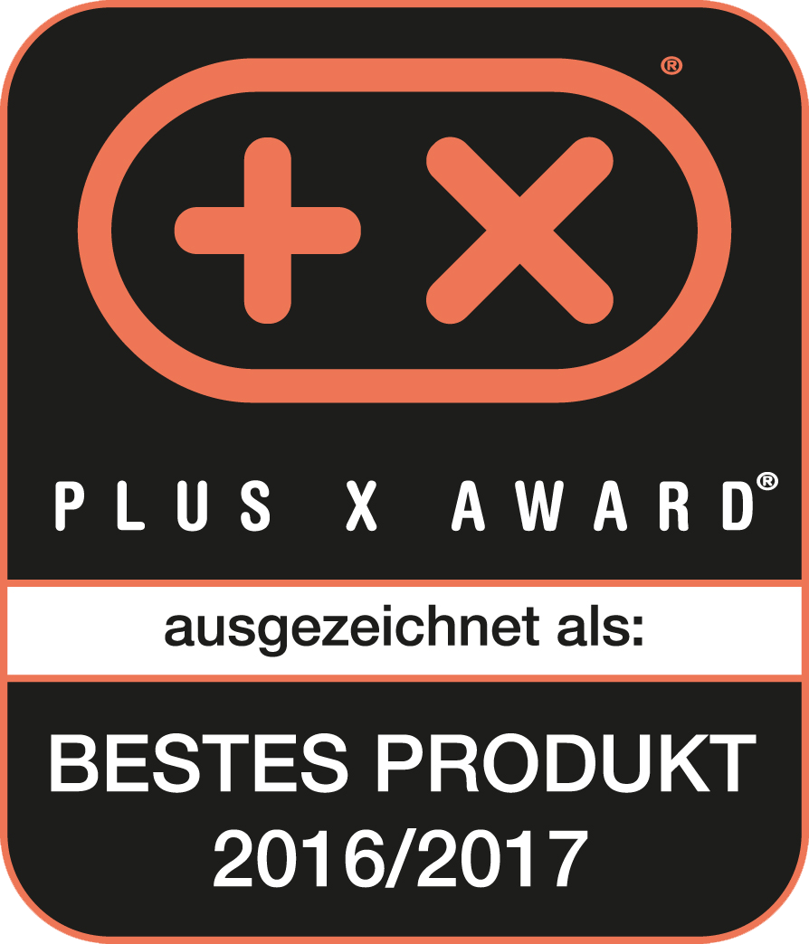 Plus X Award 2016 Bestes Produkt